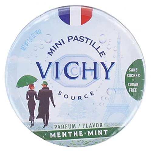 Vichy Mini Pastille Menthe - 1 boîte de 40g