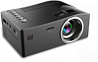 Fosa UC18 Mini Portable video Projector, Full HD 1080P LCD LED Home Theater Cinema Mini Portable Projector Support USB TV ...