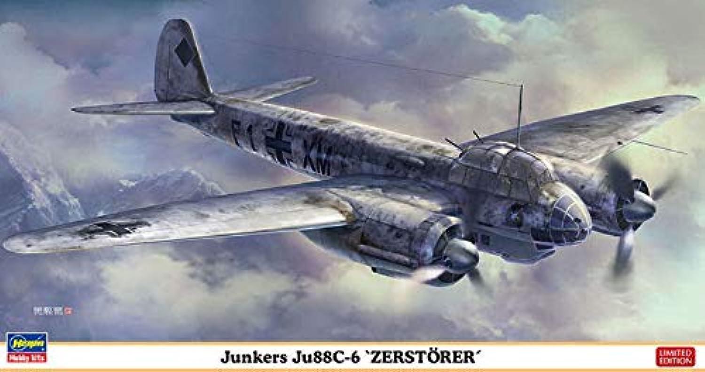 JUNKERS JU 88C-6 KIT 1 72 - Hasegawa - Kit Aerei - Kit di Montaggio