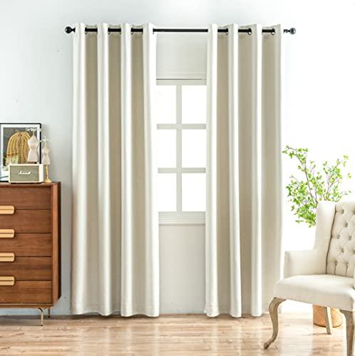IVIL 2 cortinas con ojales, 260 x 140 cm, 90 % de...