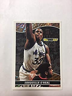 Shaquille O'Neal (Basketball Card) 1993-94 Topps - Prize Black Gold #18
