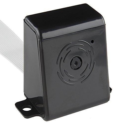 Raspberry Pi Kamera-Gehäuse, in 30 Sekunden montiert, schwarz
