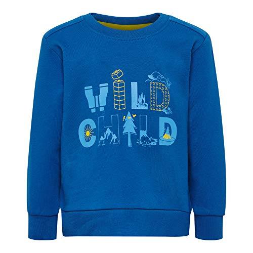 Lego Wear Baby-Jungen LWSIRIUS 653-SWEATSHIRT Sweatshirt, Blau (Blue 553), (Herstellergröße: 80)