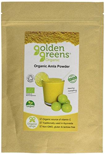 GOLDEN GREENS ORGANIC Organic Amla Fruit Powder 200g (PACK OF 1)