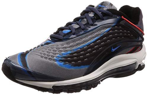 Nike Air Max Deluxe, Scarpe da Fitness Uomo, Multicolore (Thunder Blue/Photo Blue/Wolf Grey/Black 402), 44 EU