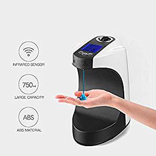 Zyyqt Dispensador de jabón, Escritorio 750Ml Montada de pulverización manuales Cuarto de baño Libre del Sensor, dispensador automático de Lavado de Manos Hotel Alimentador del jabón líquido