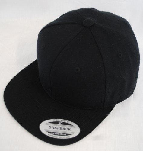 Yupoong - Casquette de Baseball - Homme Noir Noir