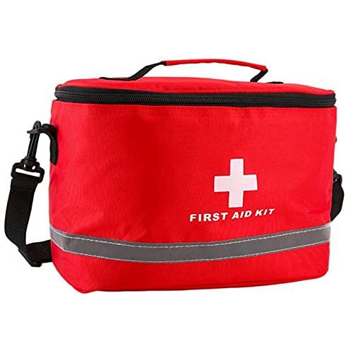 XLLQYY Bolsa de primeros auxilios vacía bolsa de rescate de viaje bolsa de emergencia para el coche, hogar, oficina, cocina, deporte al aire libre