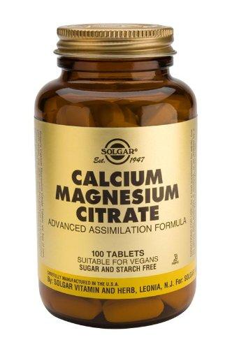 Calcium Magnesium Citrate Tablets - 100