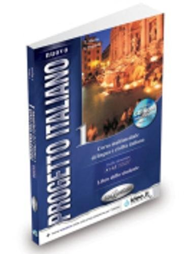 Nuovo progetto italiano. Con CD-ROM: Progetto Italiano 1. Libro dello studente + CD-ROM: Corso Multimediale Di Lingua E Civilta Italiana