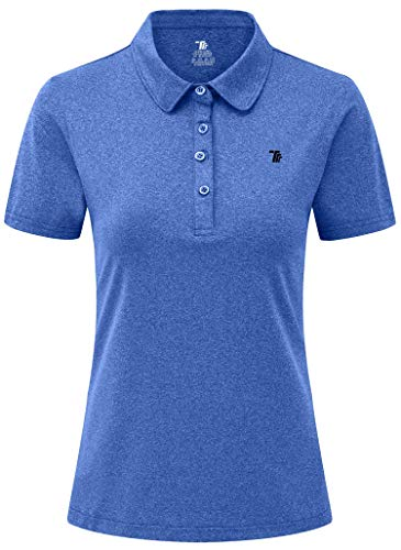 YSENTO Polo de golf à manches courtes pour femme - Séchage...