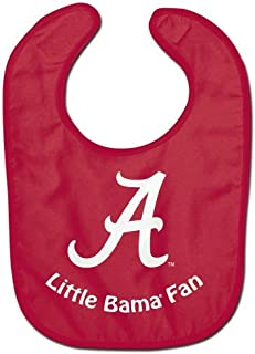 NCAA College Full Color Mesh Baby Bibs (Alabama Crimson Tide All Pro)