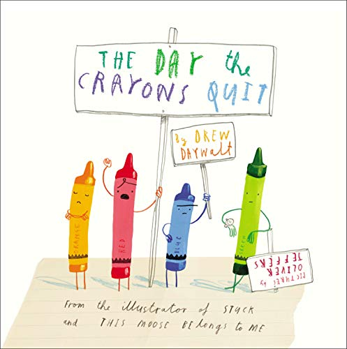 Product Image of the The Day the Crayons Quit
