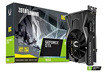 ZOTAC Gaming GeForce GTX 1650 OC 4GB GDDR5 128-Bit Gaming Graphics Card Super Compact ZT-T16500F-10L