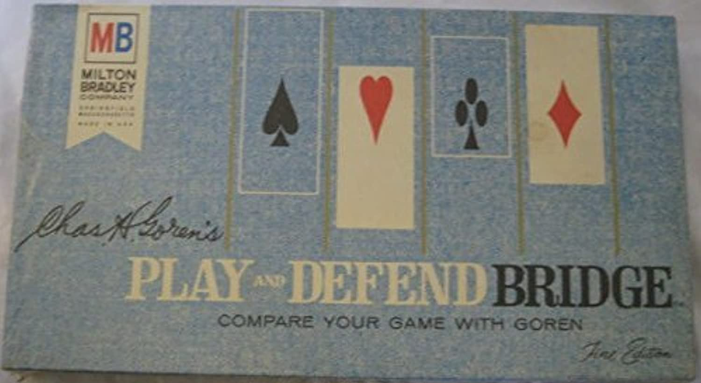 Chas H. Goren's Play And Defend Bridge Fine Edition Vintage 1965