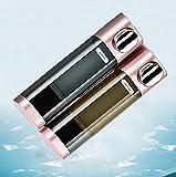 LXLAMP dispensador geles, dispensador jabon baño Pared dispensador de jabon baño Dispensador de jabón para Montar en la Pared - Recargable para Gel de Ducha y champú