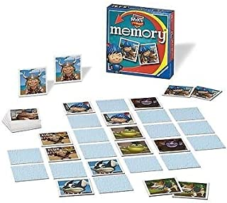 1 X Mike The Knight Mini Puzzle Memory Game Card