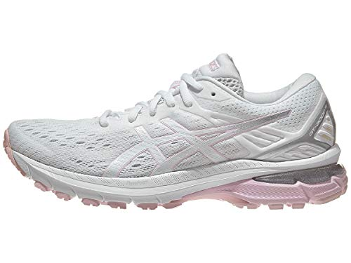 ASICS Women's GT-2000 9, White/Pink Salt, 6 Medium