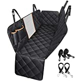 OMORC [Upgraded Version] Dog Seat Cover for Cars with Seatbelts, Heavy Duty