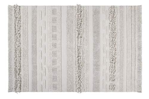 Lorena Canals Alfombra Lavable Air Dune White Algodón reciclado - Beige - 140x200 cm