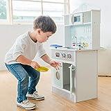 Teamson Kids - Pastel Little Chef Juego de Madera de Cocina para niños pequeños (1...