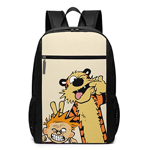 Schultasche Reiserucksack Calvin and Hobbes Backpack Laptop Backpack School Bag Travel Backpack 17 Inch