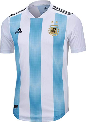 adidas Argentina Authentic Men's Home Soccer Jersey FIFA World Cup Russia 2018 (XL)