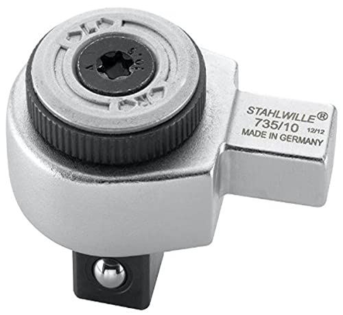 Stahlwille 735/10 - Carraca Acoplable 9X