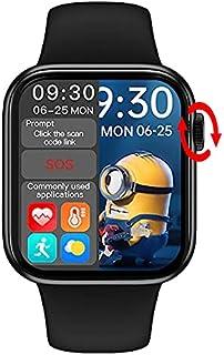HW 16 Smart Watch 2021, 44mm , Full Screen HD IPS 1.72 inch, Bluetooth Call, Fitness Tracker, Waterproof, & Heart Rate Sen...
