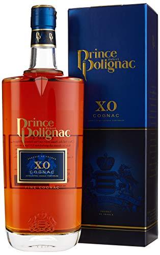 Hubert de Polignac X.O. Cognac mit Geschenkverpackung (1 x 0.7 l)