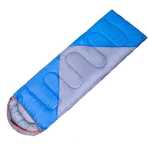 KACT El Saco de Dormir es Ligero, con Bolsa de compresión, Compacto y cómodo for Adolescentes Adultos, 4 Temporadas de Viaje, Camping, Senderismo, Bolsa de Almacenamiento