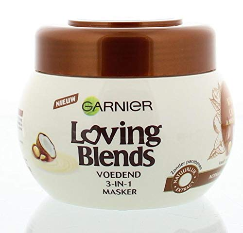 Garnier Loving Blends Masker Kokos, 300 Ml