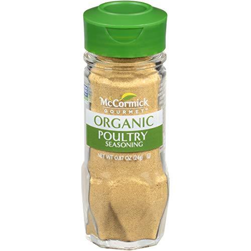 McCormick Gourmet Organic Poultry Seasoning, 0.87 oz