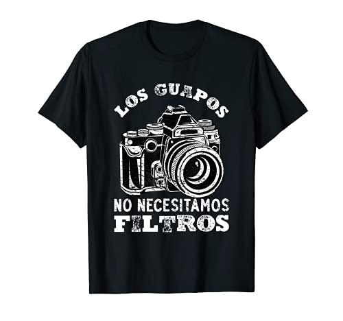 LOS GUAPOS NO NECESITAMOS FILTROS Camiseta
