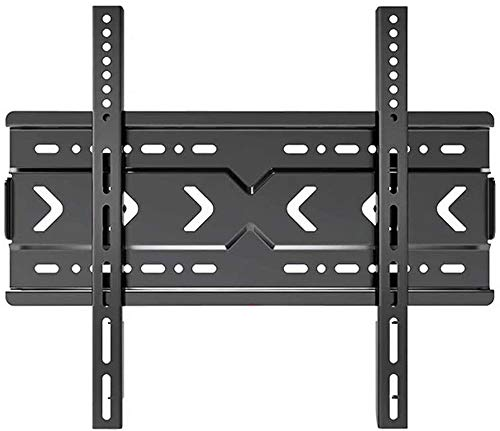 XWX Montaje De Soporte De Pared De TV con Diseño De Soporte Fijo para TV LCD LED Televisores De Plasma Ultra Slim Fix TV Soporte De Montaje con Soporte De hasta 100 Kg Negro (Size : 26-60 Inches)