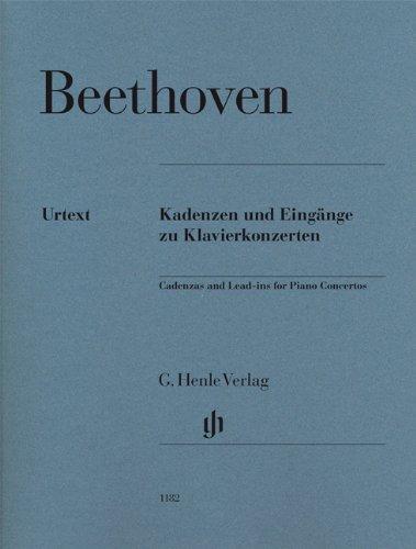Kadenzen und Eingänge zu Klavierkonzerten