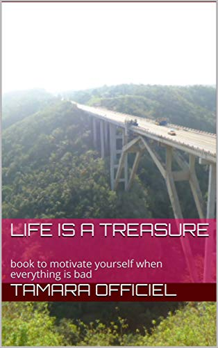 life is a treasure: book to motivate yourself when everything is bad (French Edition)