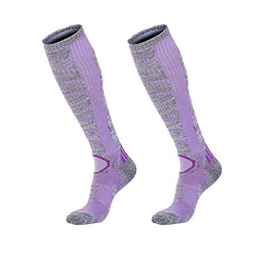 XIKUN Womens Ski Socks Winter Performance Socks Warm Snow Socks for Skiing...