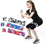 unknow - Juego de 3 bandas de resistencia de camuflaje para la piel y la cadera, ideal para el hogar, gimnasio, yoga