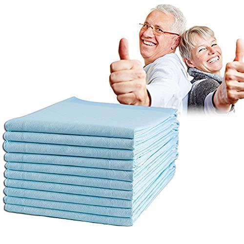 10pcs 60x90cm adultos enfermería esteras pañales desechables enfermería almohadillas colector orina