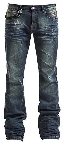 Black Premium by EMP Johnny Männer Jeans blau W33L34 98% Baumwolle, 2% Elasthan Basics