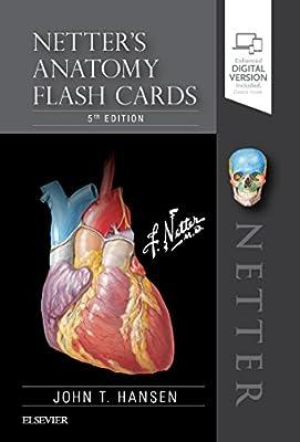 Netter's Anatomy Flash Cards, 5e (Netter Basic Science) by Elsevier