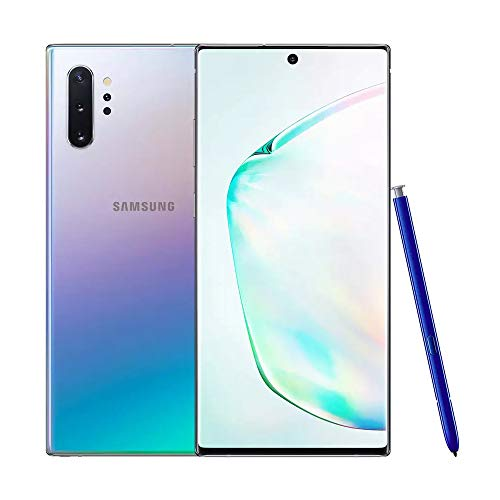 Samsung Galaxy note10 + 5G single SIM 256GB 6.3-inch Android smartphone - Aura Glow, UK version