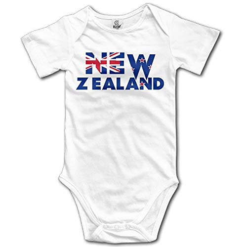 SDGSS Combinaison Bébé Bodysuits Custom New Zealand Baby Girl and Boy Climbing Cartoon Short Sleeve T [ -
