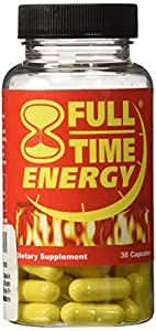 Finally... An Energy Supplement that works as hard as you do... Quickly and Easily Increase Your Energy Levels... Discover Full-Time Energy's Synergenic Energy Blend and Experience a Long Lasting, Smooth Natural Feeling Energy... Powerful Fat Burner....