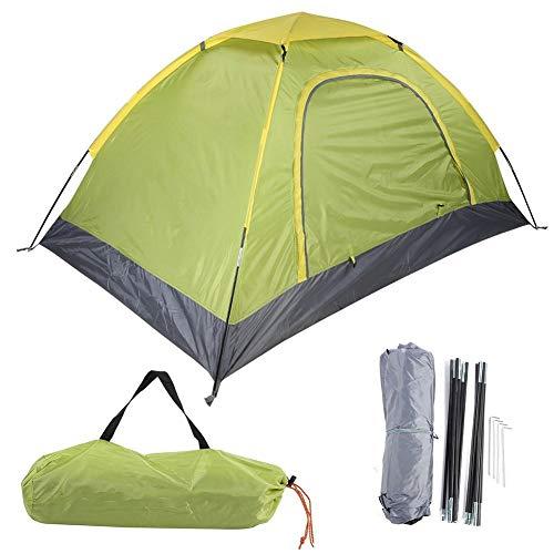 Liukouu Tienda de campaña, al Aire Libre Portátil Anti-Mosquitos 1-2 Personas Tienda de Accesorios para Escalar Camping Beach Fácil de configurar Pequeñas Tiendas Ligeras(Verde)