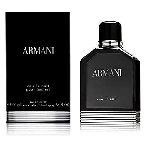 Giorgio Armani Eau de Nuit Eau de Toilette Uomo, 100 ml