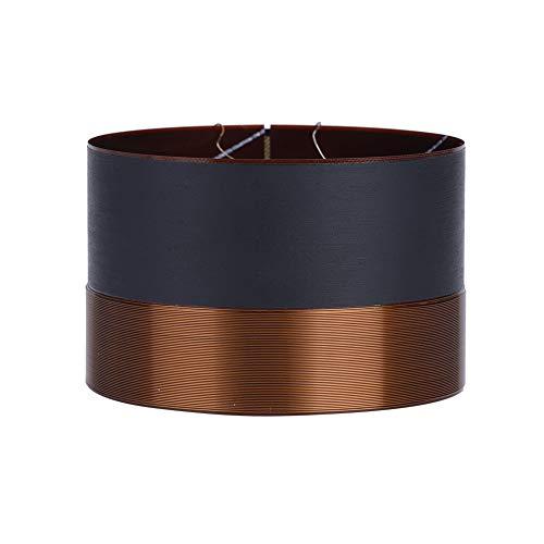 Topiky Speaker Voice Coil, 75,5 mm zwart aluminium DIY Audio Bass Coil voor het repareren van de luidspreker
