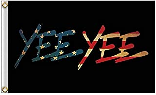 Faylagee-yx American Yee Yee Black Antiqued Colonial Flag 3'X5' Banner Garden Flag Two Metal Grommets