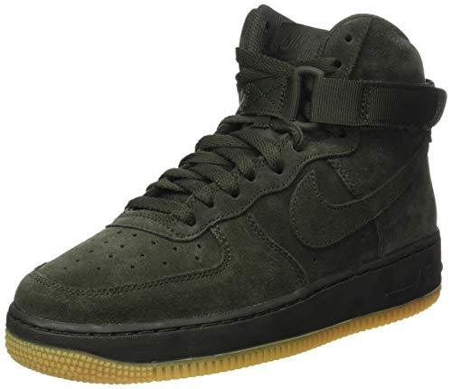 Nike Air Force 1 High LV8 (GS), Zapatillas Altas Hombre, Verde (Green 807617/300), 38.5 EU